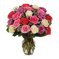 Assorted roses, pastel (BF229-11KL)
